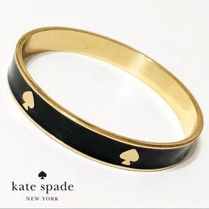 kate spade Black & Gold Bangle